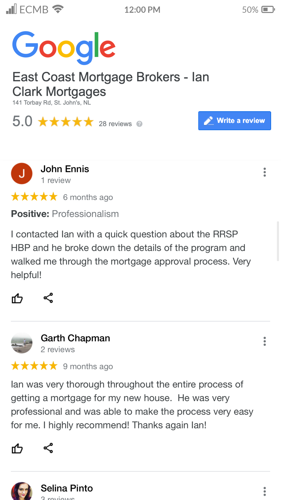 Google Review 3